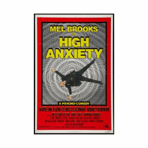High Anxiety Poster 24inx36in