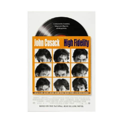 High Fidelity Poster #02 24inx36in