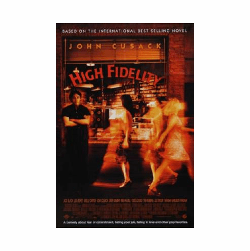 High Fidelity Poster #03 24inx36in