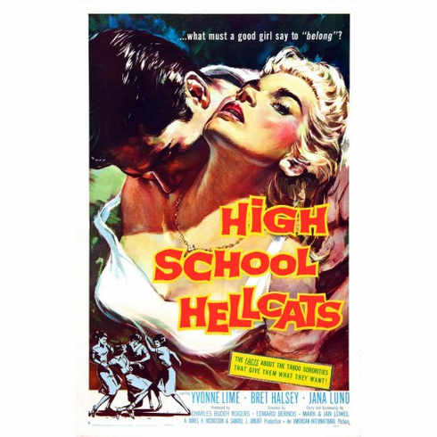 High School Hellcats Movie Poster 24inx36in