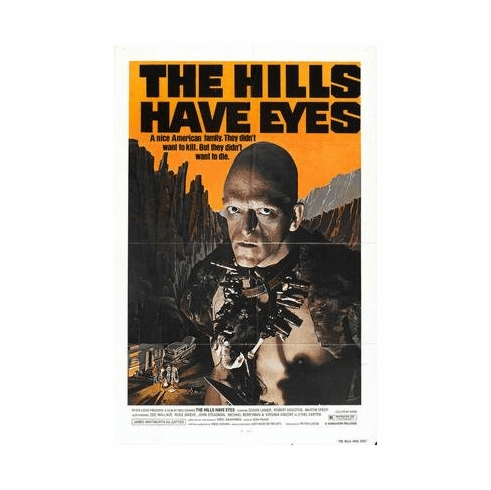 Hills Have Eyes The Movie Poster 11x17 Mini Poster