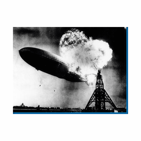 Hindenberg The Poster 24inx36in