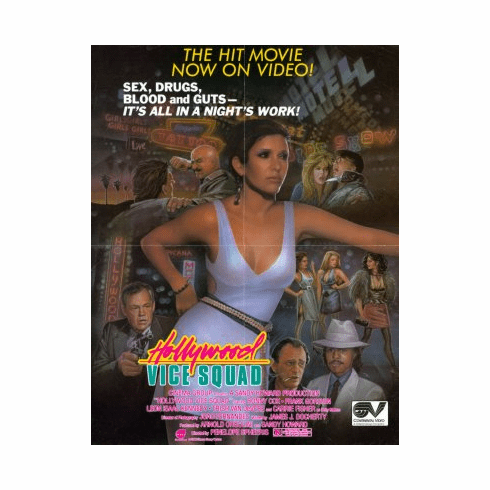 Hollywood Vice Squad Movie Poster 24x36
