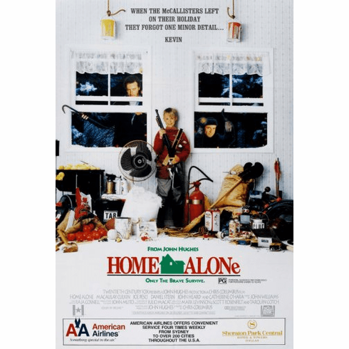 Home Alone Movie Poster 24inx36in