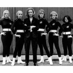 """Honor Blackman Black and White Poster 24""""x36"""""""