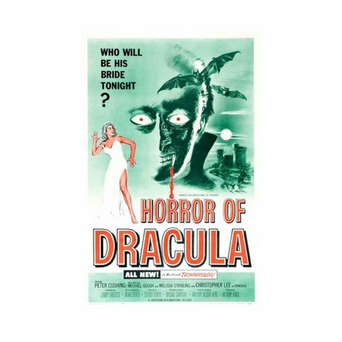 Horror Of Dracula Movie 8x10 photo master print #02