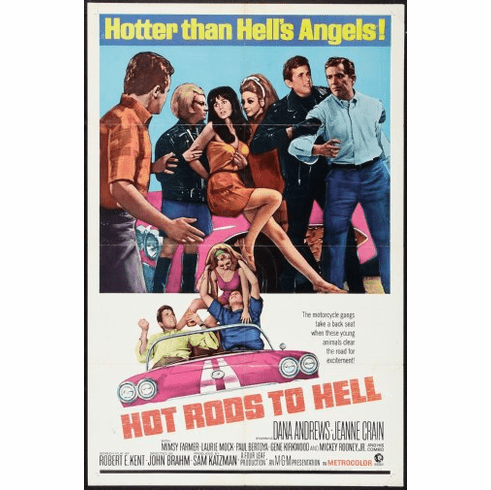 Hot Rods Movie Poster 24inx36in