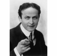 "Houdini Black and White Poster 24""x36"""