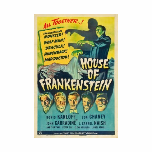 House Of Frankenstein Mini Poster 11x17