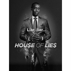 "House Of Lies Black and White Poster 24""x36"""