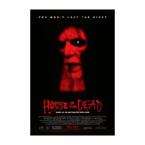 House Of The Dead Movie 11inx17in Mini Poster #01