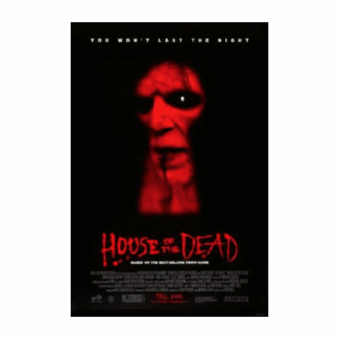 House Of The Dead Movie Poster 24inx36in