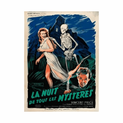 House On Haunted Hill Poster French 24inx36in