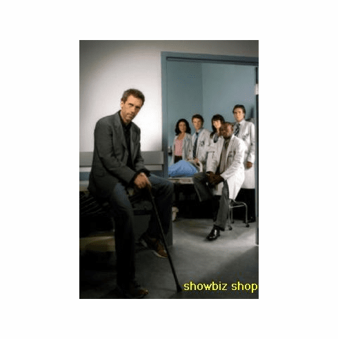 House Poster Hugh Laurie 24inx36in
