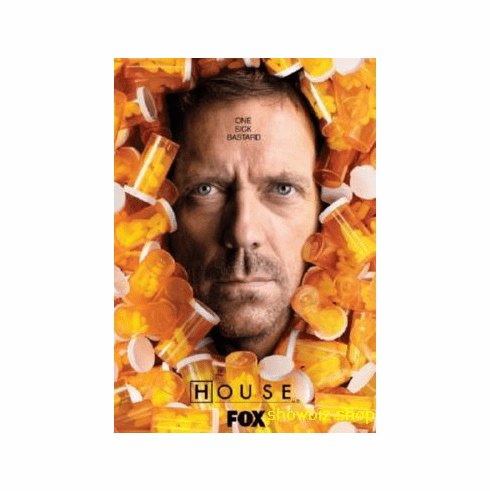 House Poster Pill Bottle Promo 24inx36in