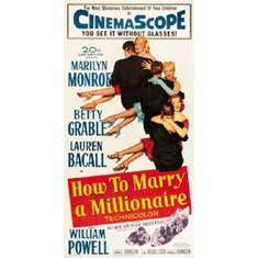 How To Marry A Millionaire Mini Movie Poster 11inx17in