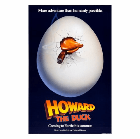 Howard The Duck Movie Poster 24inx36in