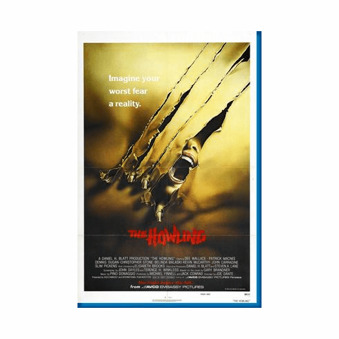 Howling The Movie Poster 24inx36in