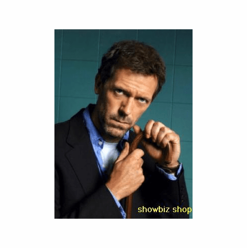 Hugh Laurie Poster Cane Pose 24inx36in