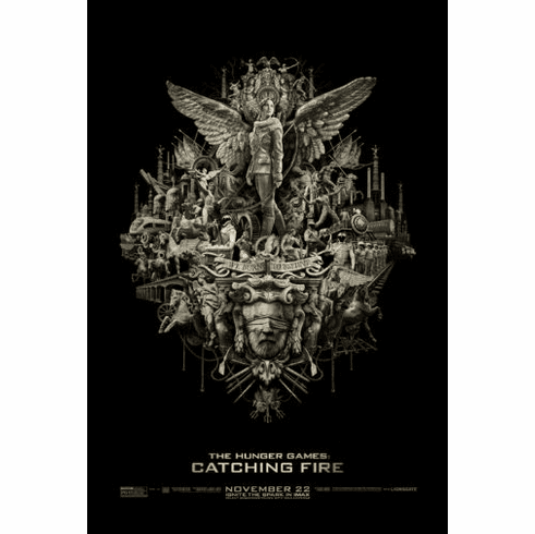 Hunger Games Catching Fire Movie Poster 11Inx17In Mini Poster