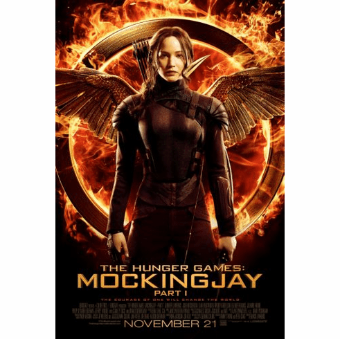 Hunger Games Mockingjay Part 1 Movie poster 24inx36in Poster