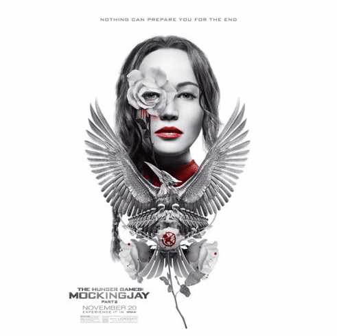 Hunger Games Mockingjay Part 2 Movie Poster 24in x36in