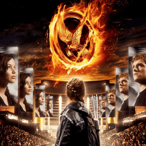Hunger Games The Movie Poster #04 27x27 24inx36in
