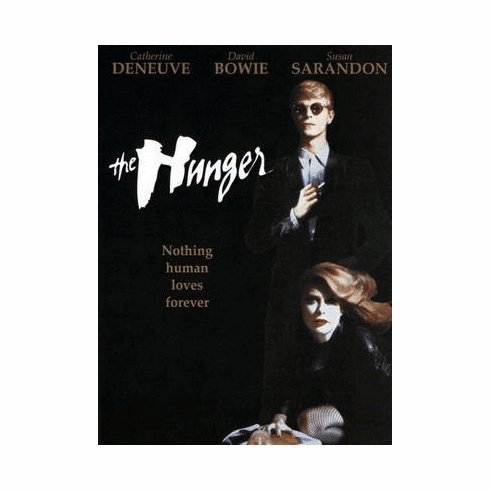 Hunger The Movie Poster David Bowie 24in x36 in