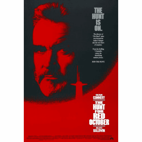Hunt For Red October Movie Poster 24inx36in