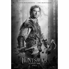 """Huntsman Winters War Black and White Poster 24""""x36"""""""
