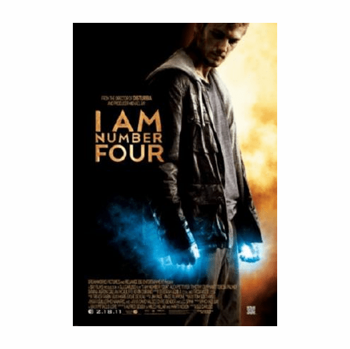 I Am Number Four Movie Poster 24inx36in