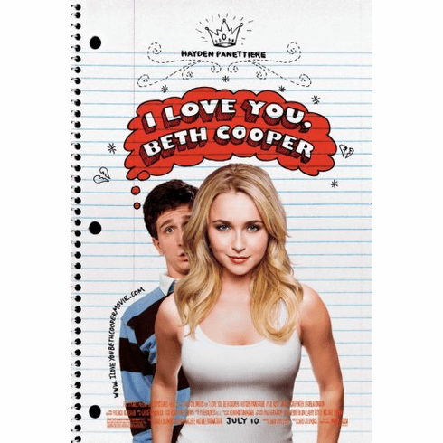 I Love You Beth Cooper Movie Poster 24inx36in