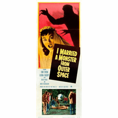 I Married A Monster From Outer Space 14x36 Insert Movie Poster