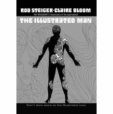 """Illustrated Man The Black and White Poster 24""""x36"""""""