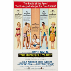Impossible Years Movie Poster 24x36