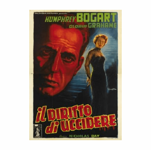 In A Lonely Place Movie Poster Italian 24inx36in
