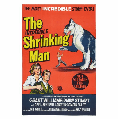 Incredible Shrinking Man Movie Poster 24inx36in