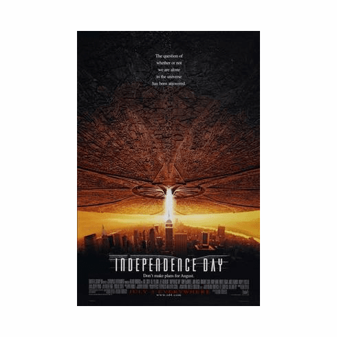 Independence Day Movie Poster 24in x36 in