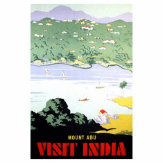 India Mount Abu Poster 24in x36in