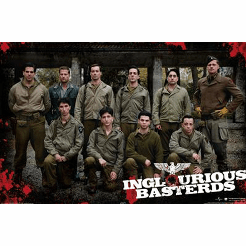 Inglorious Basterds Movie Poster 24inx36in