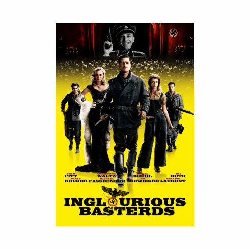 Inglourious Basterds Movie Poster 24x36