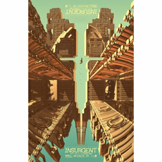 Insurgent Movie Poster 24in x36in