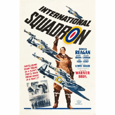 International Squadron Movie Poster 24inx36in