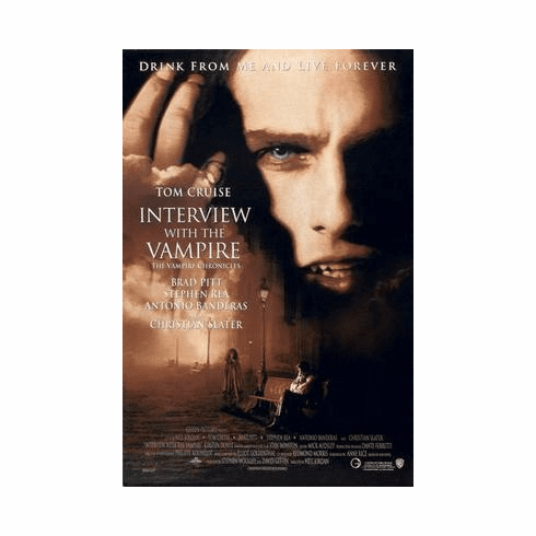 Interview With The Vampire Movie Poster 24in x36 in