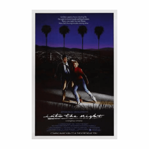 Into The Night Movie Poster 24inx36in