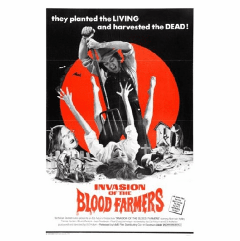 Invasion Of The Blood Farmers Movie Poster 24inx36in