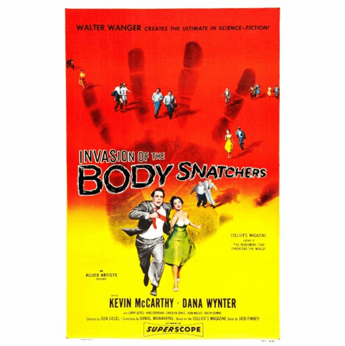 Invasion Of The Body Snatchers Movie Poster 24inx36in