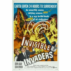Invisible Invaders Movie Poster 11x17 Mini Poster