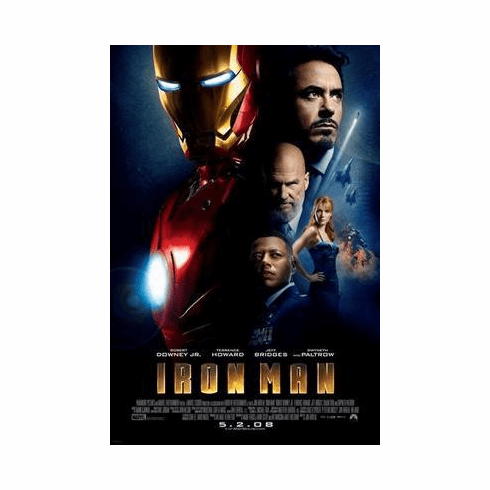 Ironman Movie Poster 24in x36 in