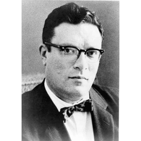 """Isaac Asimov Black and White Poster 24""""x36"""""""